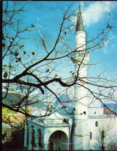 Fotografija Kizlar-agine džamije preuzeta iz prvog turističkog prospekta grada