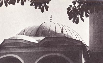 kizlar agina džamija, kupola