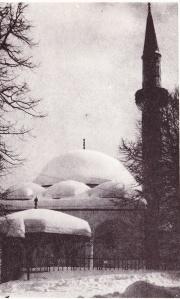 kizlar agina džamija, pod snijegom