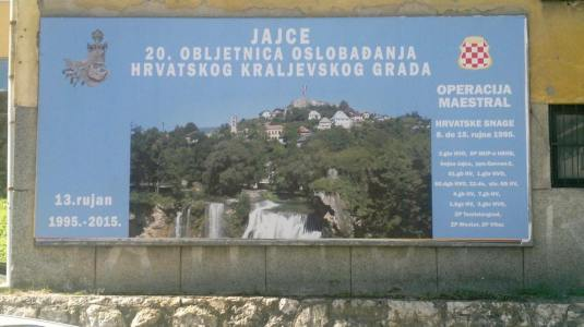 Jajce, hrvatski grad