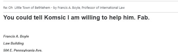 Boyle Možete reći da želim pomoći Komšiću