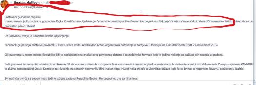 Komšič Vujičić, ponovno crveno