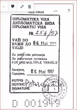 Boyle, dipl pasoš