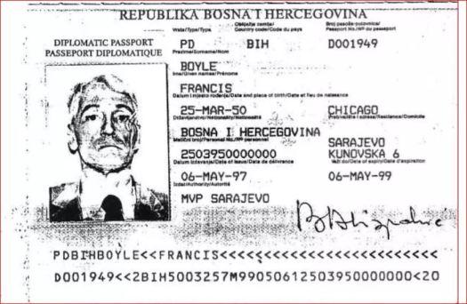 pasoš, Boyle