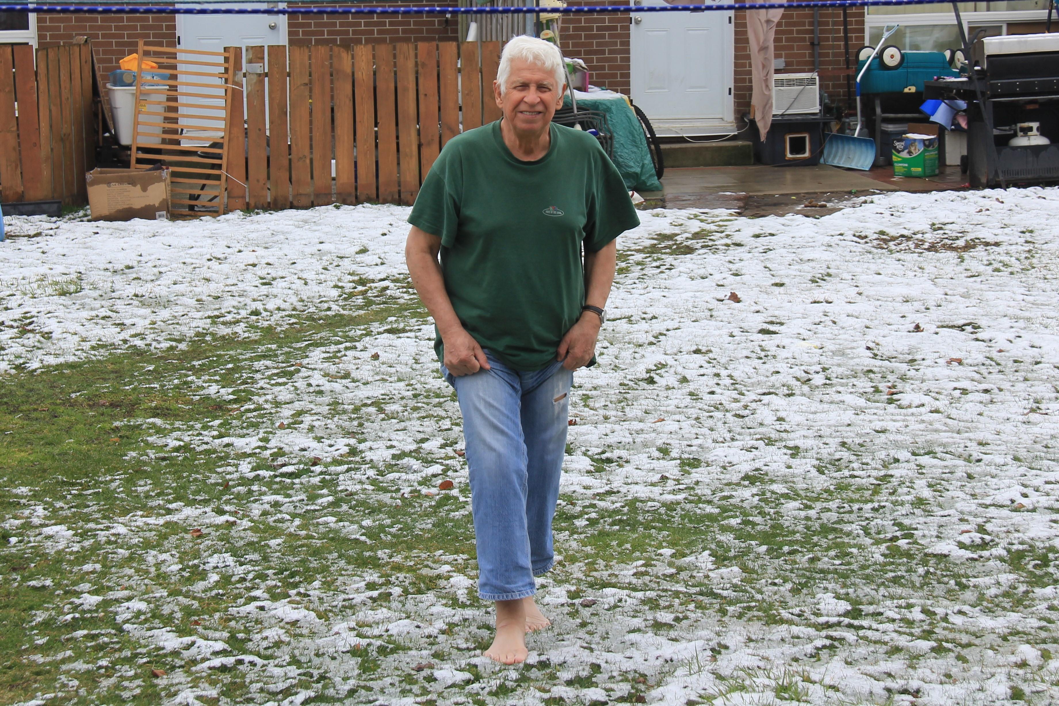 a Ibrahim, snijeg