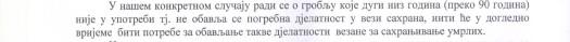 A Mezar - Staro Selo. paragraf 5