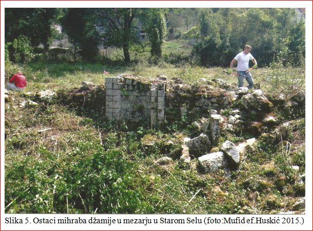 A Staro Selo, ostaci mihraba